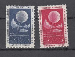 NATIONS  UNIES  NEW-YORK  1957   N° 48 - 49    NEUFS**   CATALOGUE YVERT&TELLIER - Ungebraucht