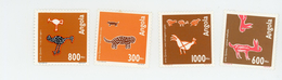 Angola 1993-Art Quioca-Léopard, Chien,oiseaux,coq-YT 907/10***MNH - Angola
