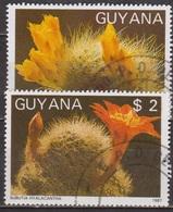 Flore - GUYANA - GUYANE - Fleurs De Cactus - N° 1769 MN - 1988 - Guyane (1966-...)