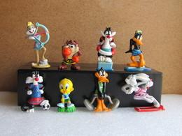 Kinder 2004 : Série Complète : Les Looney Tunes En Grèce Antique (8 Figurines Avec 4 BPZ) - Cartoons