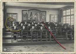 Braine-Le-Comte : Ecole Normal : La Salle De Dessin  1945    (   15 X 10.5 Cm  ) - Braine-le-Comte