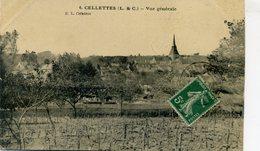 CELLETTES Vue Générale (2175) - Other Municipalities