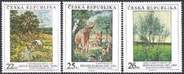 TCHEQUIE 2008 - Tableaux - Burian-Kosarek-Kaldova - 3 V. - Tchéquie
