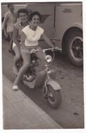 """MOTO - MOTORCYCLE - """"LAMBRETTA""""   - FOTO ORIGINALE - DONNE - Automobili"""