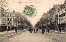 2329-2019    RENNES   AVENUE DE LA GARE - Rennes