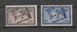 NATIONS  UNIES  NEW-YORK  1953   N° 17 - 18    NEUFS**   CATALOGUE YVERT&TELLIER - New York -  VN Hauptquartier