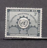 NATIONS  UNIES  NEW-YORK  1953   N° 19    NEUF**   CATALOGUE YVERT&TELLIER - Ungebraucht