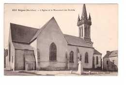 56 Beignon L' Eglise Et Le Monument Des Soldats , Monument Aux Morts - Altri Comuni