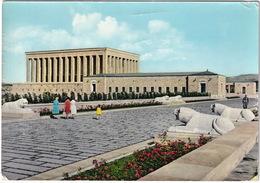 Ankara - Looking To The Ataturk's Mausoleum - (Türkiye) - 1963 - Turkije