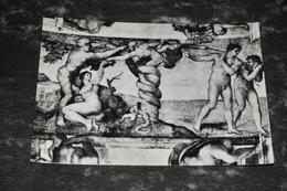 5120    CAPPELLA SISTINA, VOLTA MICHELANGELO, IL PECCATO ORIGINALE - Vaticano