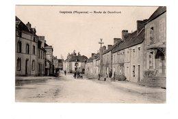 CPA 53 - Couptrain ( Mayenne ) Route De Domfront - Couptrain