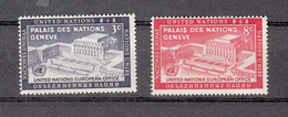 NATIONS  UNIES  NEW-YORK  1954   N° 25 - 26    NEUFS**   CATALOGUE YVERT&TELLIER - Ungebraucht