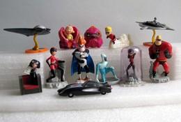 Kinder 2005 : Série Complète : Les  Incrédibles (11 Figurines Avec 1 BPZ) - Dessins Animés