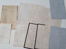 OTHON ( Otto ) DE REINACH - WERTH 1841 - 1874  Autographe 10 Lettres 46 P. Algérie Insurrection 1864 Gal Youssouf - Autographes