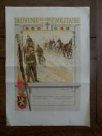 Oude Onbeschreven Poster  Uit De Jaren 1900;;;;; SOUVENIR  Du Cercle MILITAIRE - Documents