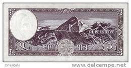 NEPAL P. 13 5 R 1961 UNC (s. 8) - Népal