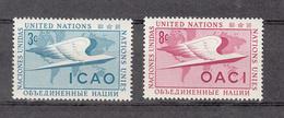 NATIONS  UNIES  NEW-YORK  1955   N° 31 - 32    NEUFS**   CATALOGUE YVERT&TELLIER - New York -  VN Hauptquartier