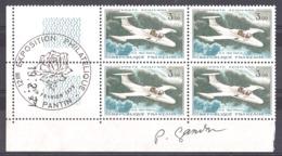 Signature De Gandon En Marge Sur Coin Daté (19.2.71) PA 39 - Cachet Expo Philatélique Pantin 1972 - Luftpost