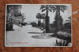 NICE (06) - MAUSOLEE DU CZAREWITCH VU DU PARC IMPERIAL - Cafés, Hotels, Restaurants