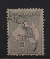 LOT 687 :  AUSTRALIE  N° 87 A  - Cote 250 € Dents Courtes - Usados