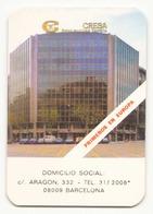 Calendrier Publicitaire Cresa à Barcelona - Calendriers