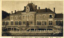 CHISSAY-en-TOURAINE Mairie Et Groupe Scolaire (2192) - France