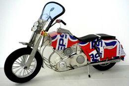 MOTO HARLEY EN BOITE DE RECUP PEPSI - VIETNAM - Figurines