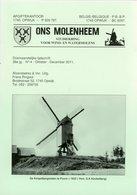 Thema: Molen/moulin - Tijdschrift ONS MOLENHEEM Okt.-dec. 2011. Puurs, Rozebeke, Maarke-Kerkem, Elsegem, Leuven Enz. - Revues & Journaux