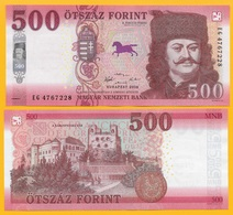 Hungary 500 Forint P-new 2018(2019) UNC - Hungary