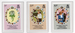 1981 - TRISTAN DA CUNHA - Yv.  Nr. 291/293 - NH - (UP131.7) - Tristan Da Cunha