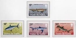 1982 - TRISTAN DA CUNHA - Yv.  Nr. 302/305 - NH - (UP131.7) - Tristan Da Cunha