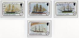 1982 - TRISTAN DA CUNHA - Yv.  Nr. 306/309 - NH - (UP131.7) - Tristan Da Cunha