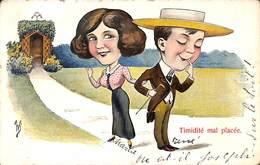 Timidité Mal Placée (couple) - Humour