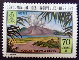 Nouvelles New Hébrides 1973 Montagne Volcan Mountain Volcano Yvert 371 ** MNH - Ongebruikt