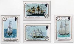 1983 - TRISTAN DA CUNHA - Yv.  Nr. 323/326 - NH - (UP131.7) - Tristan Da Cunha