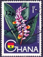 "Ghana - Aufdruck ""Ghana New Currency / 19th July, 1965."" (Mi.Nr.: 230) 1965 - Gest Used Obl. - Ghana (1957-...)"