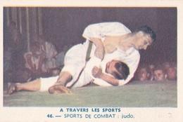 Vers 1950 LES SPORTS / DE COMBAT / JUDO ET CATCH - Martiaux
