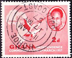 Ghana - Angolageier (Gypohierax Angolensis) (Mi.Nr.: 1) 1957 - Gest Used Obl. - Ghana (1957-...)