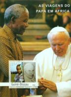 Guinea Bissau 2003 Pope John Paul  II 's Travels In Africa ,Mandela - Guinea-Bissau