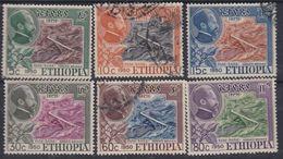 Ethiopie N° 290 / 95 X,  O : Inaug. Du Pont De L'Abbaye, La Série Des 6 Vals Trace De Charnière Ou Oblitérées, Sinon TB - Ethiopie