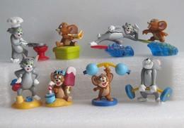 Kinder 2004 : Série Complète : Tom Et Jerry (8 Figurines Avec 5 BPZ ) - Cartoons
