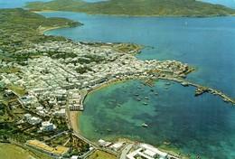 GRECIA-MYCONOS-PANORAMA AEREO - Grecia