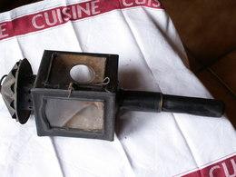 LANTERNE  Ancienne Hauteur 44 Cm  // Manque Vitre Ronde - Lamps