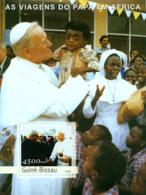 Guinea Bissau 2003 Pope John Paul  II 's Travels In Africa - Guinea-Bissau