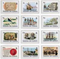 1983 - TRISTAN DA CUNHA - Yv.  Nr. 331/342 - NH - (UP131.8) - Tristan Da Cunha