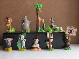 Kinder 2009 : Série Complète : Madagascar 2 (9 Figurines Avec 1 BPZ ) - Dessins Animés