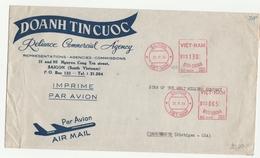 Lettera Inviata Negli Stati Uniti Via Air Mail - Priva Di Timbro Di Arrivo - Vietnam