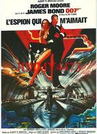 CPM - L'ESPION QUI M'AIMAIT 1977 - James Bond - Roger MOORE - Coll. F. Nugeron N° E. 170 - Scans Recto-Verso - Affiches Sur Carte