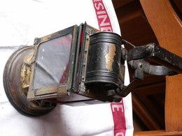 LANTERNE  Ancienne S N C F - Lamps