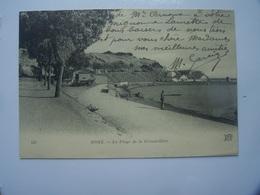3-9-----------algerie-bone La Plage De La Grenouillere-----------voir Recto Verso - Autres Villes